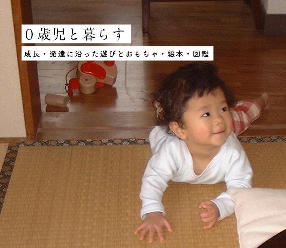 【0歳・赤ちゃん】成長・発達に沿ったおもちゃ・絵本と遊び