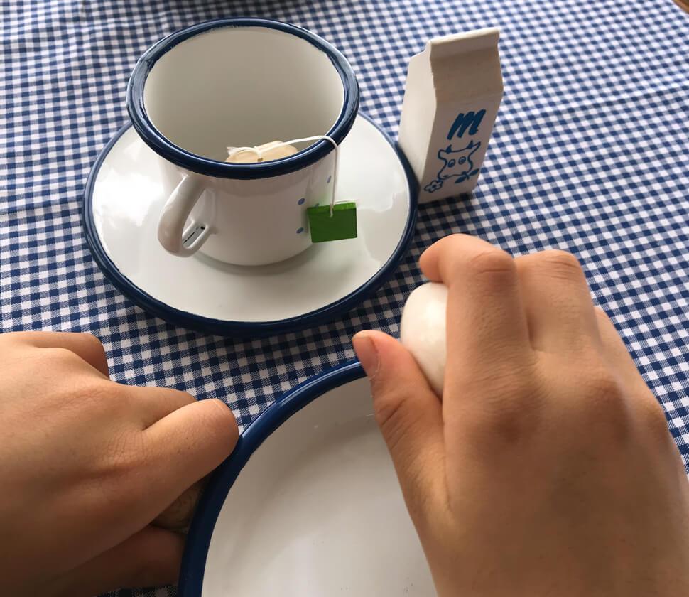 おままごとでの朝食シーンに絶対必要なアイテム!