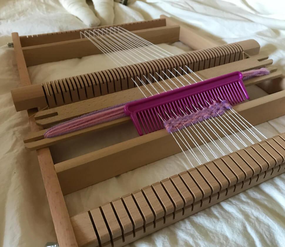 ハンドメイド・手芸の入り口、織り機に
