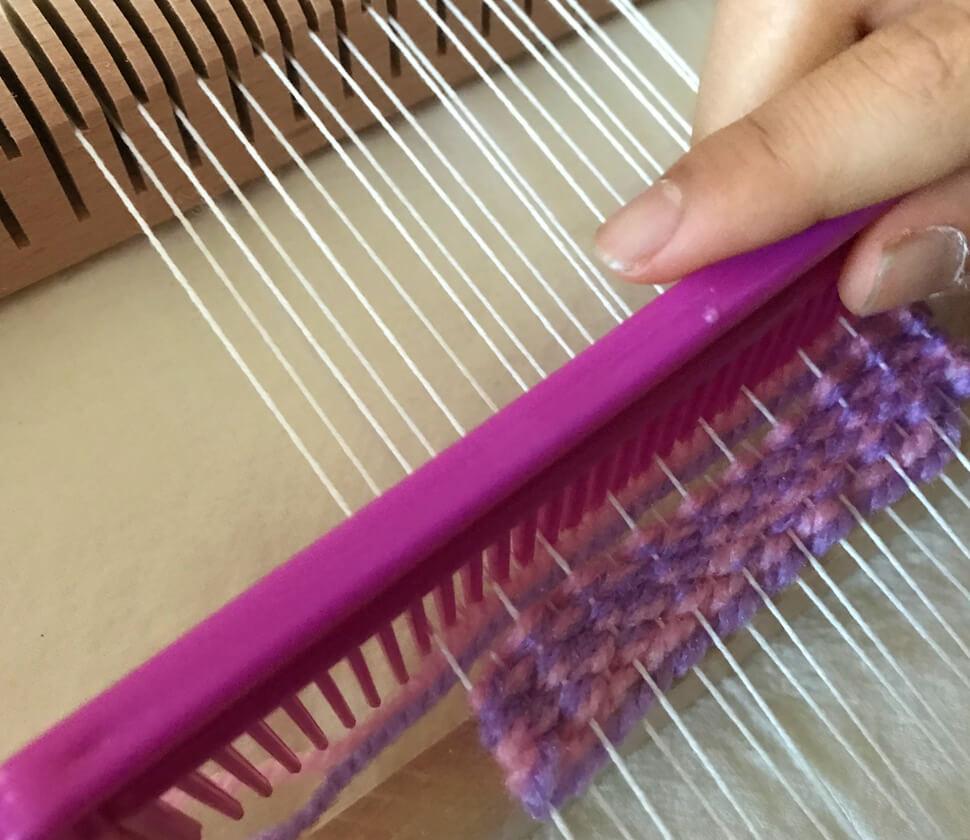 手織り機・大