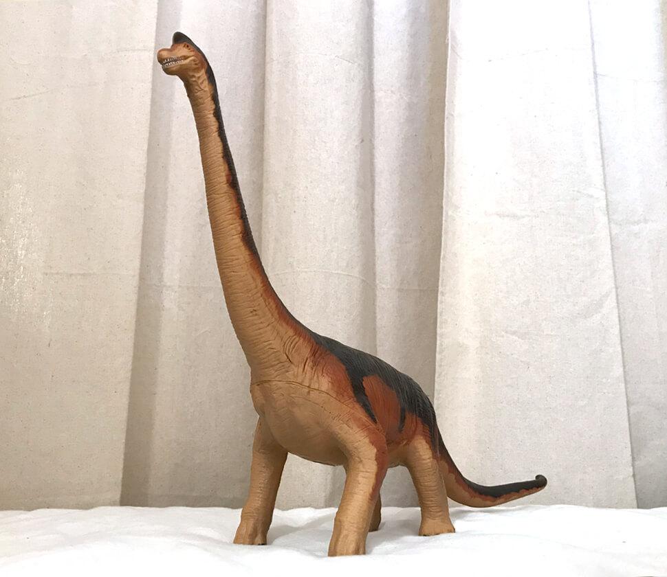 ブラキオサウルス ビニールモデル