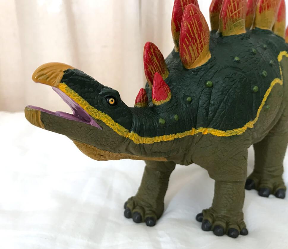 ステゴサウルス ビニールモデル