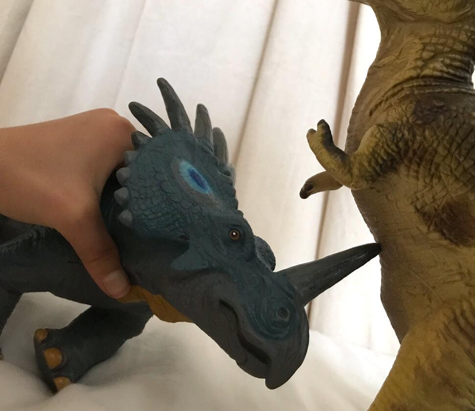 スティラコサウルス ビニールモデル