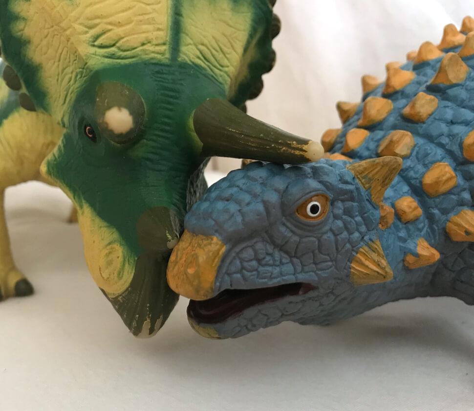 アンキロサウルス ビニールモデル