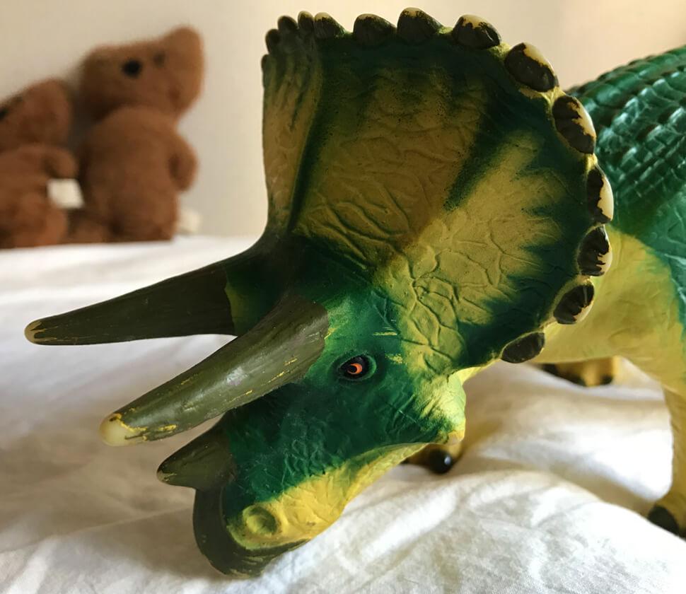 トリケラトプス ビニールモデル