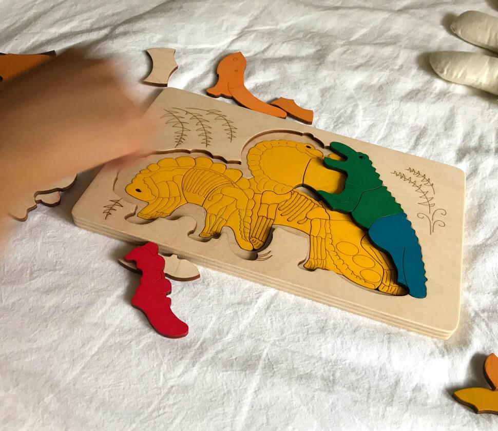 遊べて飾れるパズル