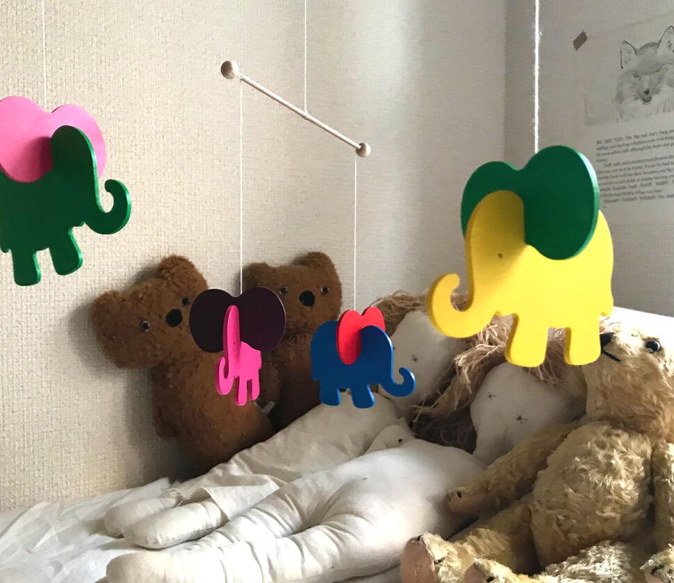 Mobile Elefanten(モビール・ぞう)
