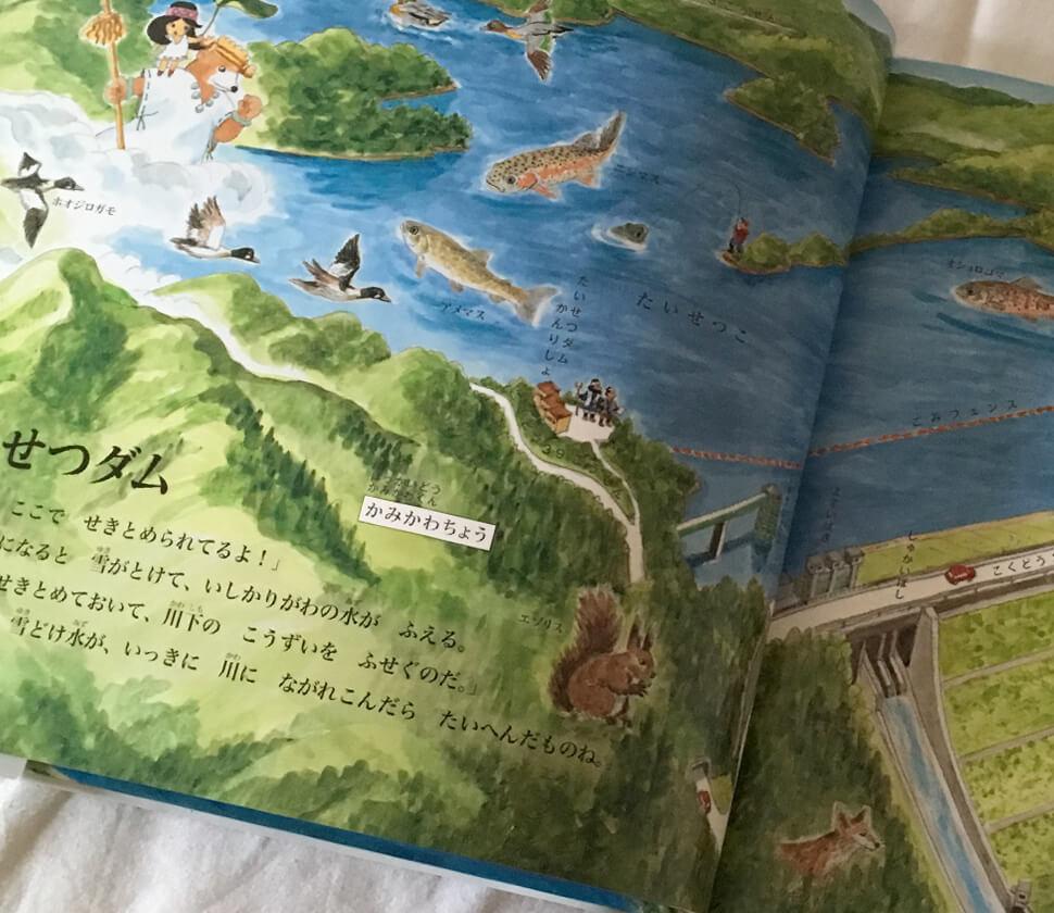 たくさんの北海道に暮らす動植物がわかる絵本
