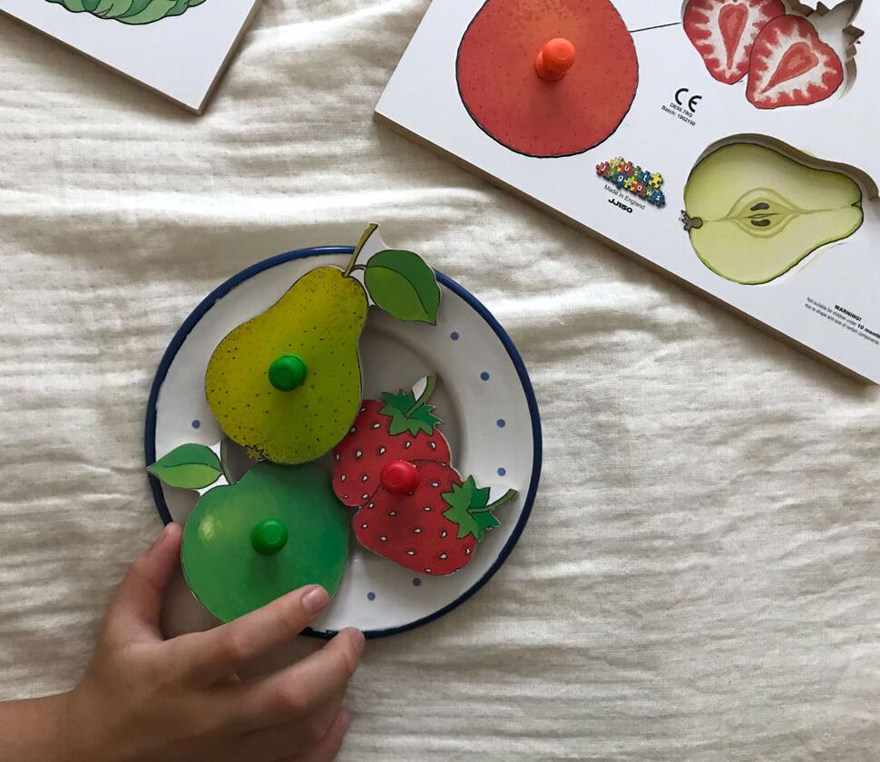 果物を切るとどうなってるの?食育おもちゃ