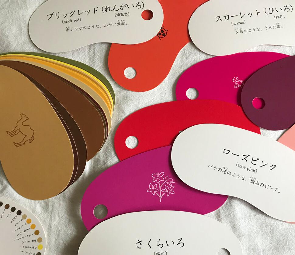 美しい色彩に親しめる知育カード