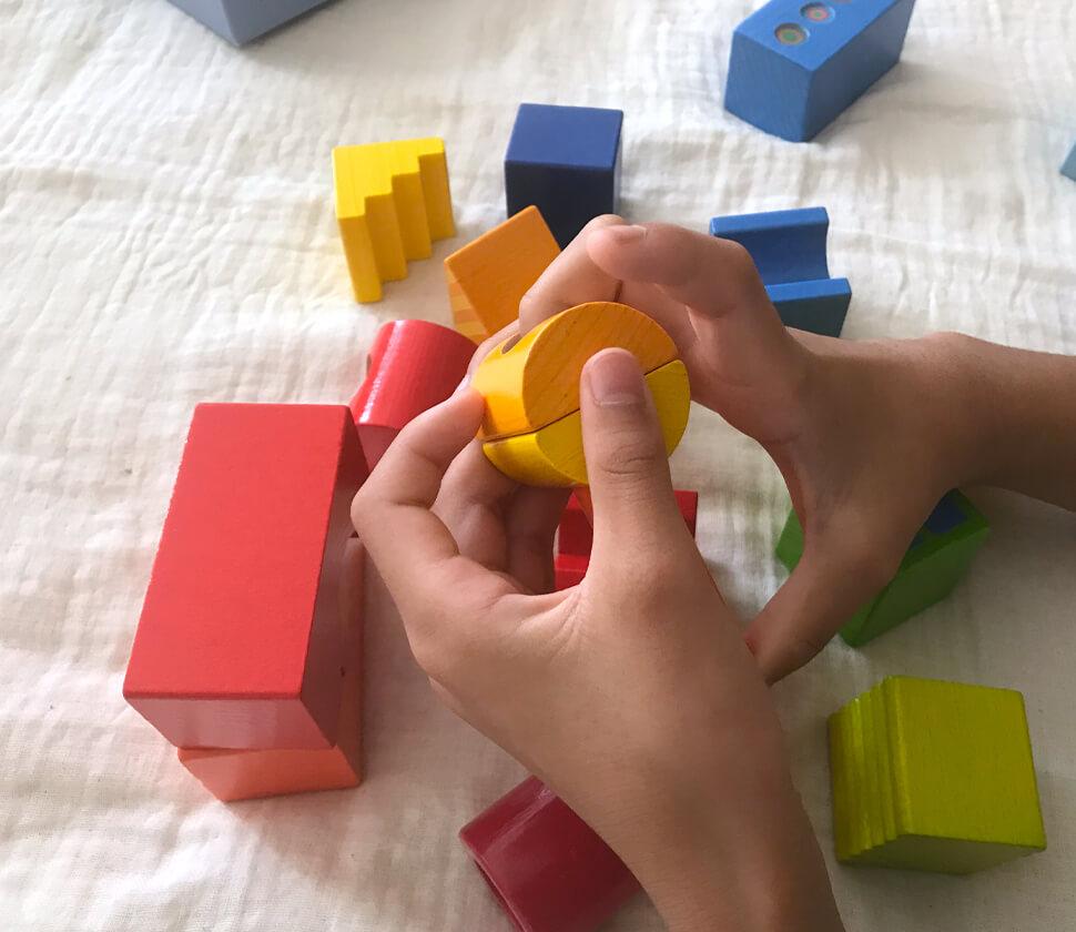 積み木・ブロックスカラフル