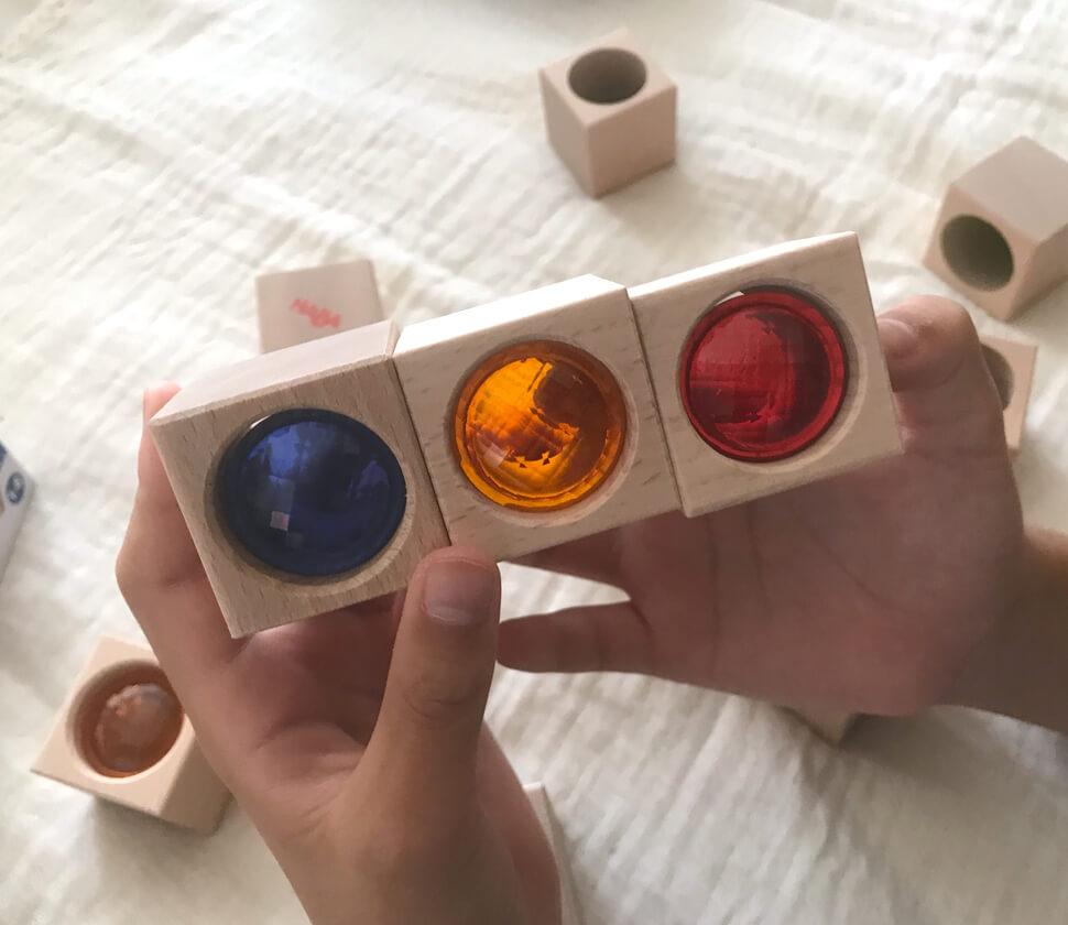 積み木・ブロックスプリズムセット
