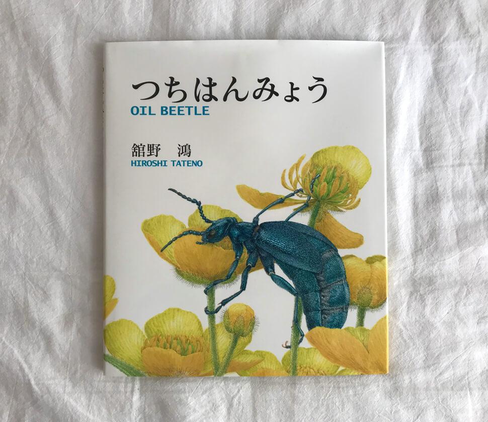 ヒメツチハンミョウを通して「種の存続」を考える絵本